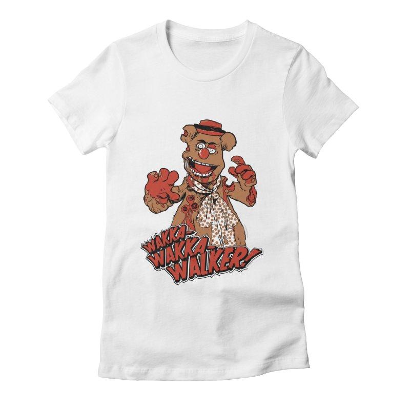 """Wakka, Wakka, WALKER!"" Zombie Fozzie Women's Fitted T-Shirt by Digital PIMP Threadless shop"