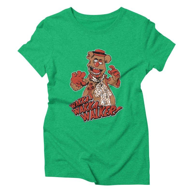 """""""Wakka, Wakka, WALKER!"""" Zombie Fozzie Women's  by Digital PIMP Threadless shop"""