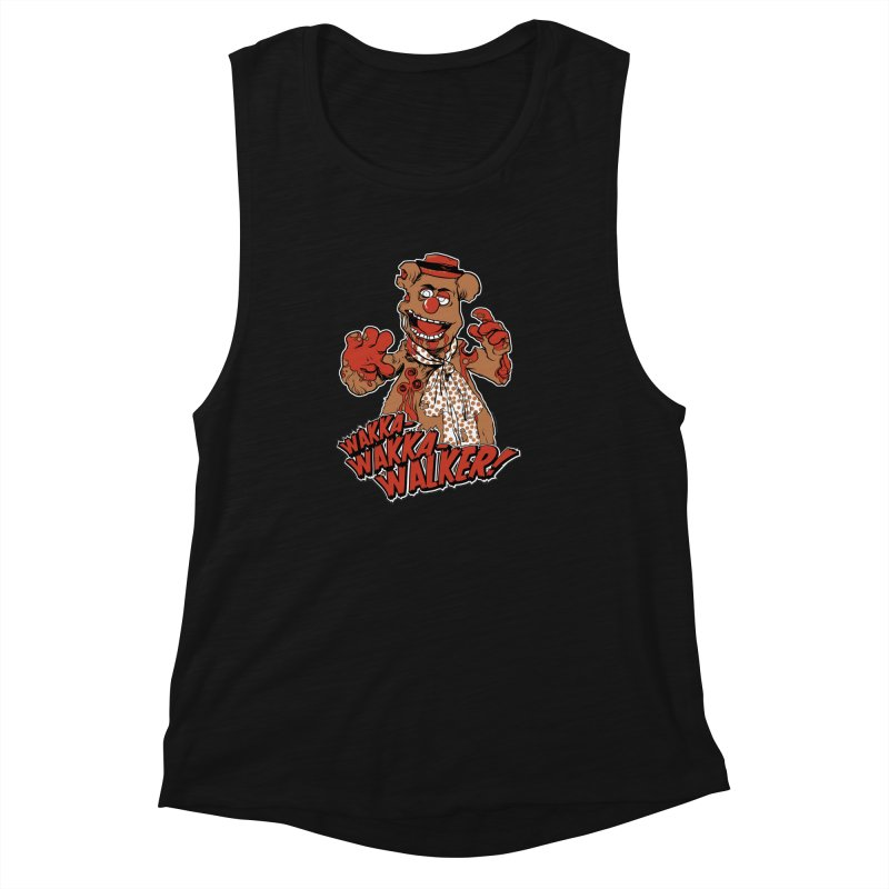 """Wakka, Wakka, WALKER!"" Zombie Fozzie Women's Muscle Tank by Digital PIMP Threadless shop"