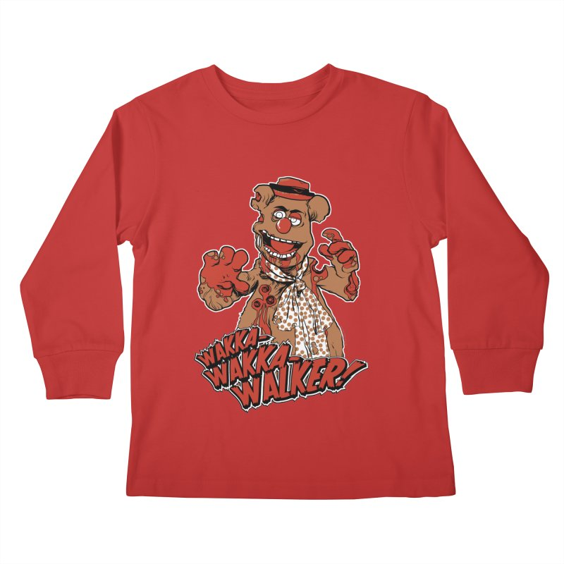 """Wakka, Wakka, WALKER!"" Zombie Fozzie Kids Longsleeve T-Shirt by Digital PIMP Threadless shop"