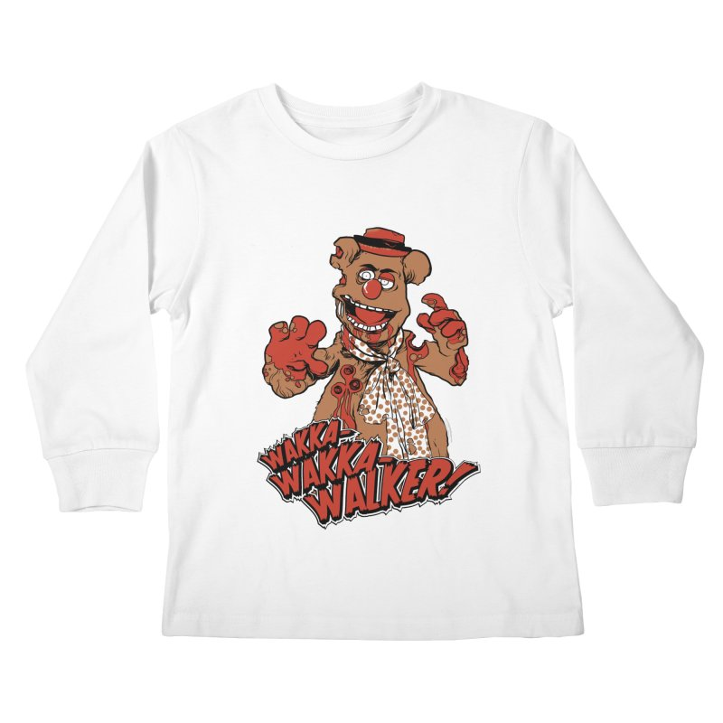 """Wakka, Wakka, WALKER!"" Zombie Fozzie Kids Longsleeve T-Shirt by Digital PIMP Threadless shop"