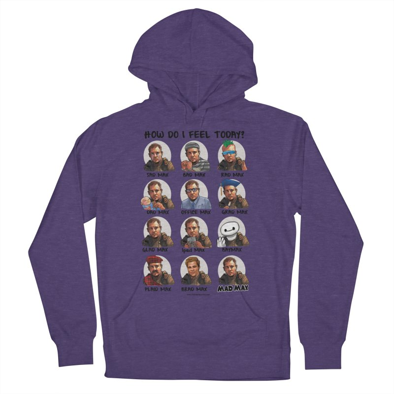 Sad/Rad/Mad Max Women's French Terry Pullover Hoody by Digital PIMP Threadless shop