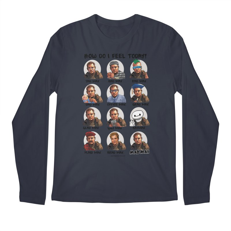 Sad/Rad/Mad Max Men's Regular Longsleeve T-Shirt by Digital PIMP Threadless shop