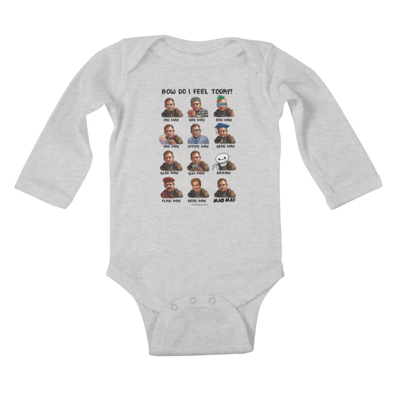 Sad/Rad/Mad Max Kids Baby Longsleeve Bodysuit by Digital PIMP Threadless shop