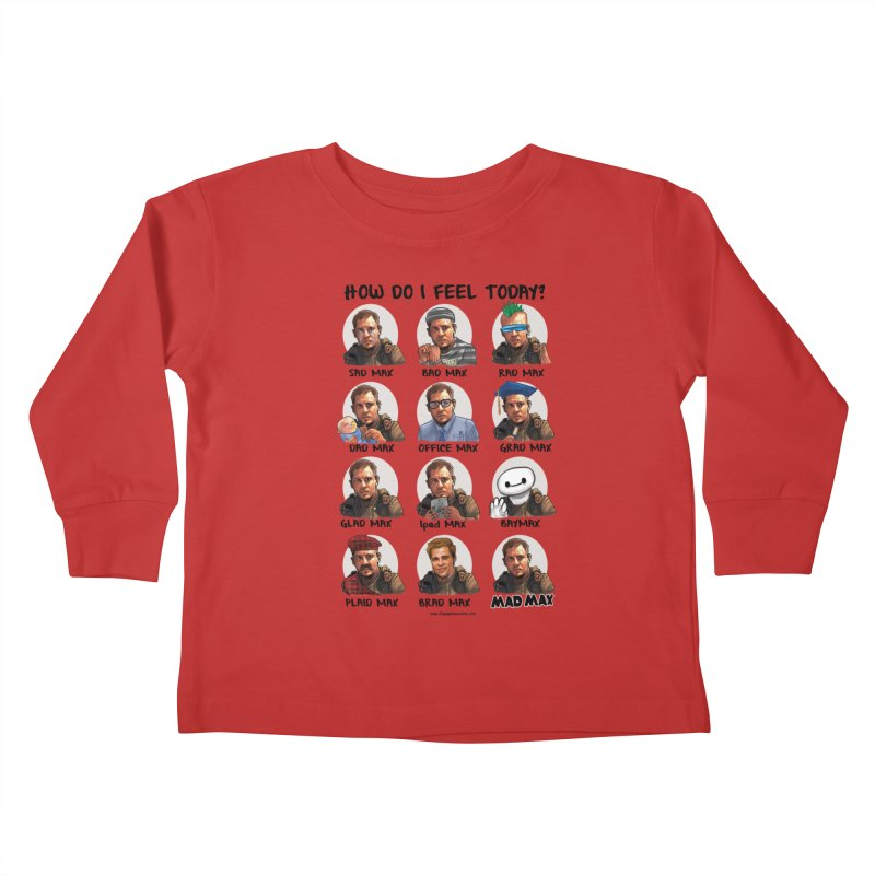 Sad/Rad/Mad Max Kids Toddler Longsleeve T-Shirt by Digital PIMP Threadless shop