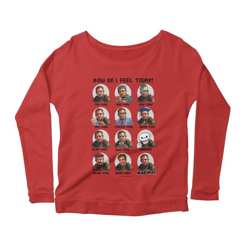 Sad/Rad/Mad Max Women's Scoop Neck Longsleeve T-Shirt by Digital PIMP Threadless shop