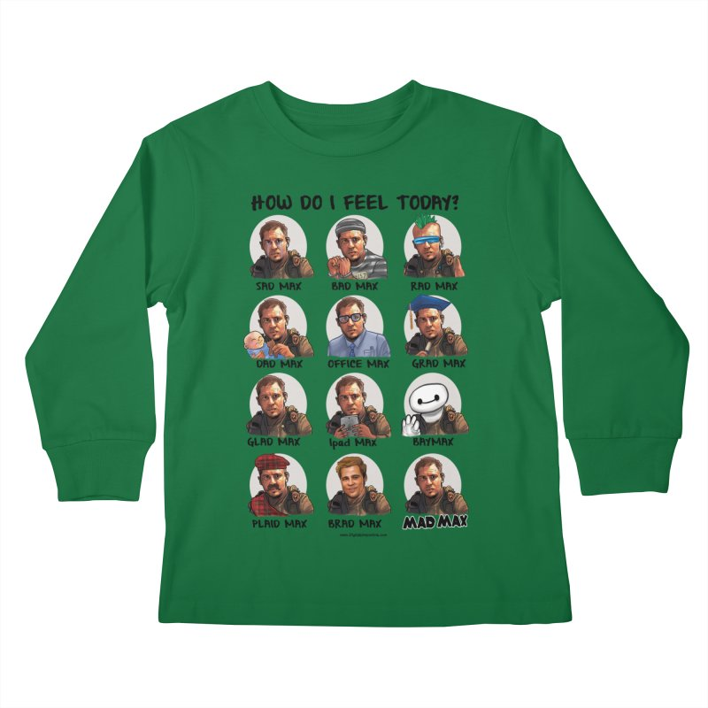 Sad/Rad/Mad Max Kids Longsleeve T-Shirt by Digital PIMP Threadless shop