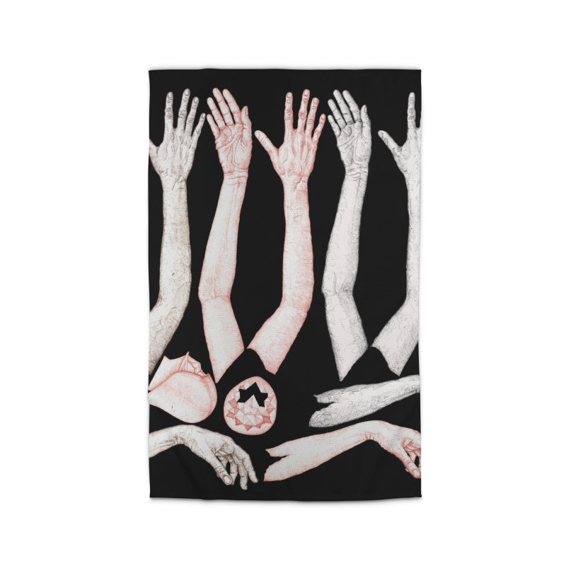 Hands Chart Home Rug by dimmerlight's Artist Shop