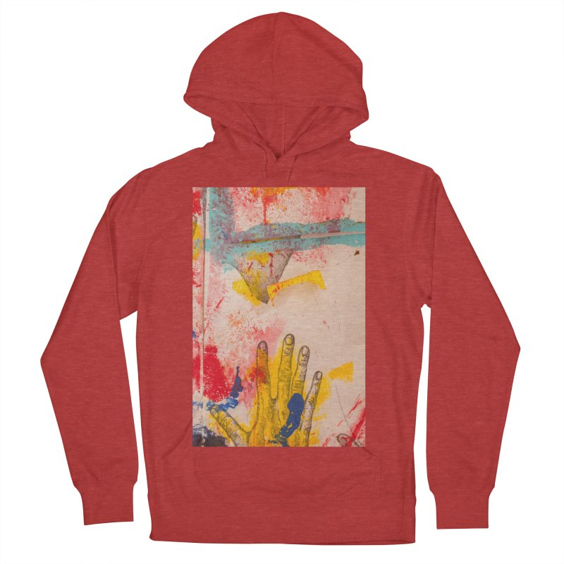 Abstract in Yellow Women's Pullover Hoody by dimmerlight's Artist Shop