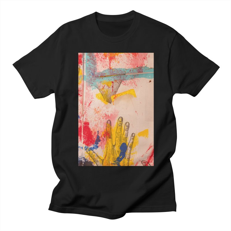 Abstract in Yellow Women's Unisex T-Shirt by dimmerlight's Artist Shop