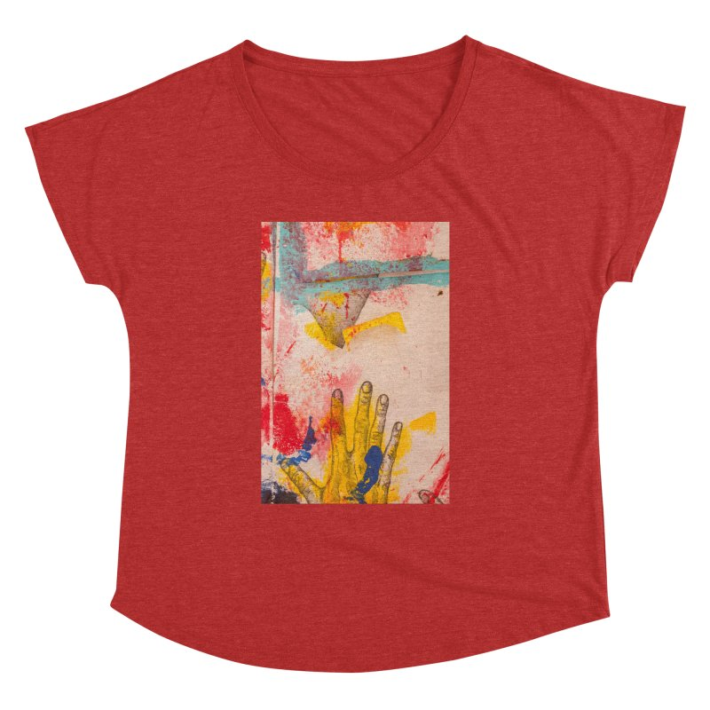 Abstract in Yellow Women's Dolman by dimmerlight's Artist Shop