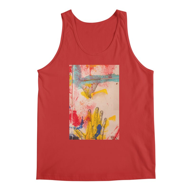 Abstract in Yellow Men's Regular Tank by dimmerlight's Artist Shop