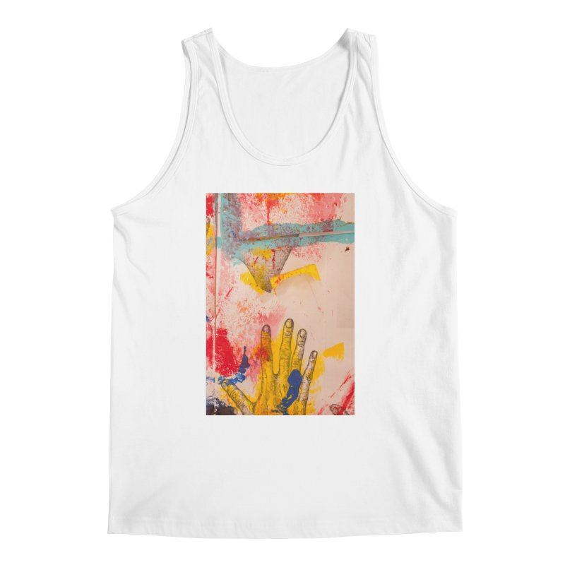 Abstract in Yellow Men's Tank by dimmerlight's Artist Shop
