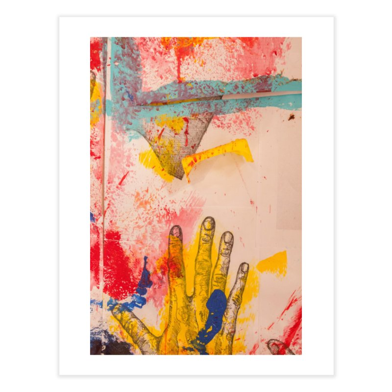 Abstract in Yellow Home Fine Art Print by dimmerlight's Artist Shop