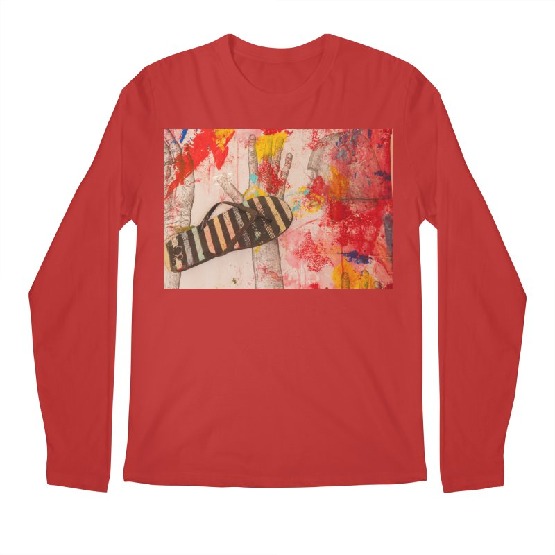 Red Helmet Men's Longsleeve T-Shirt by dimmerlight's Artist Shop