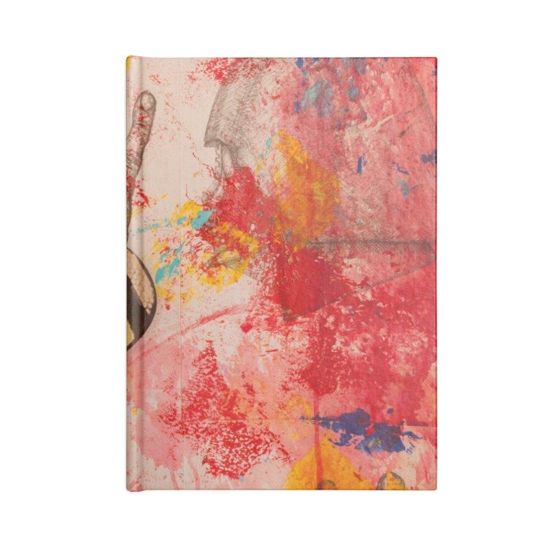 Red Helmet Accessories Notebook by dimmerlight's Artist Shop