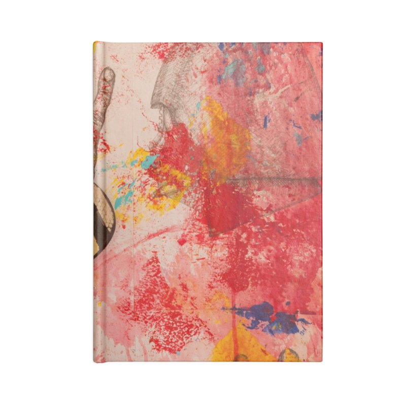 Red Helmet Accessories Notebook by dimmerlight's Artist Shop