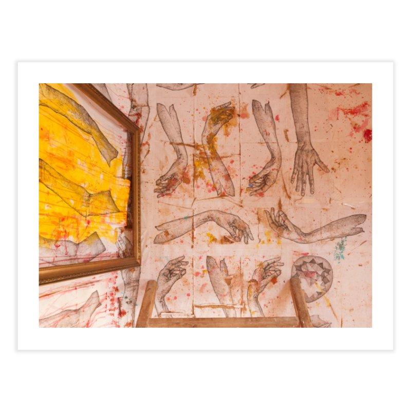 Hands Home Fine Art Print by dimmerlight's Artist Shop