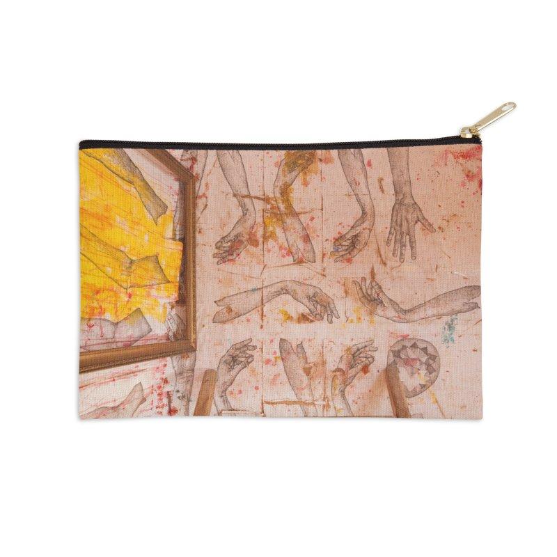 Hands Accessories Zip Pouch by dimmerlight's Artist Shop