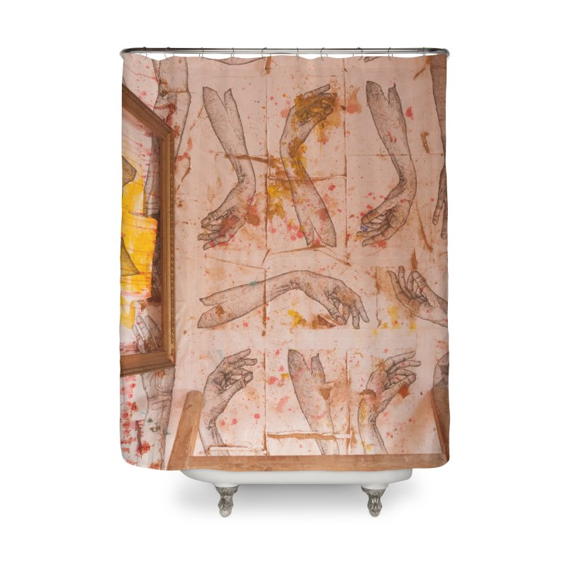 Hands Home Shower Curtain by dimmerlight's Artist Shop