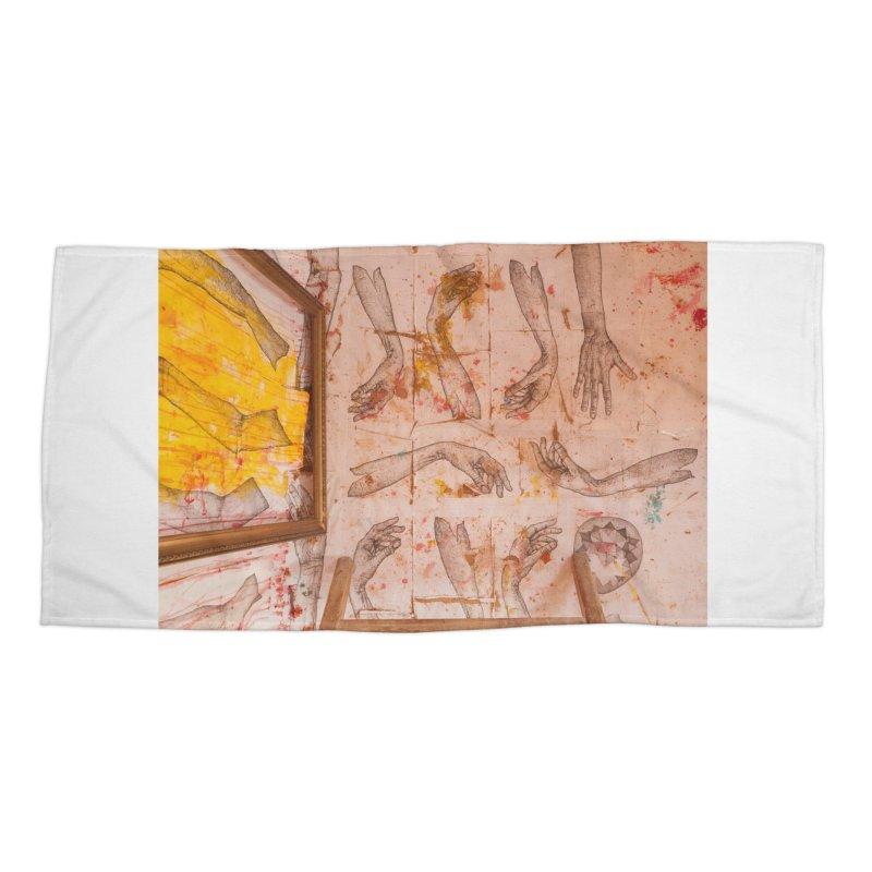 Hands Accessories Beach Towel by dimmerlight's Artist Shop