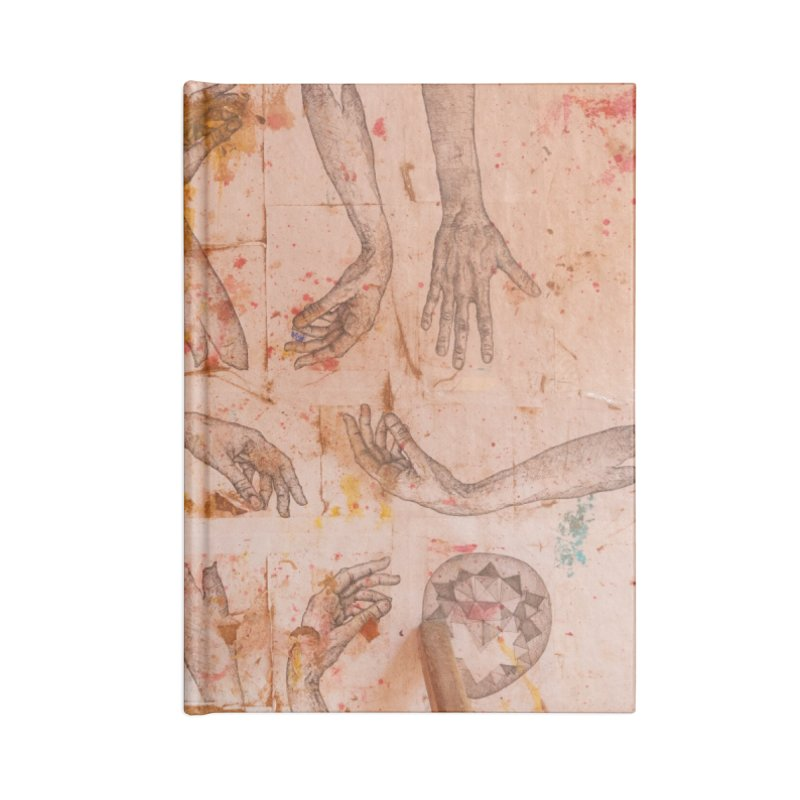 Hands Accessories Notebook by dimmerlight's Artist Shop