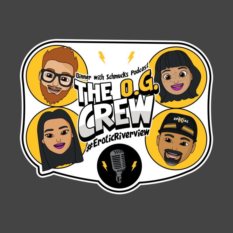 The OG Crew Men's T-Shirt by Dinner with Schmucks Podcast Shop