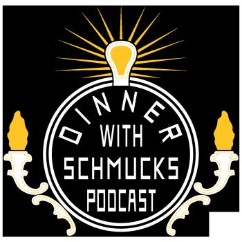 Dinner with Schmucks Podcast Shop Logo