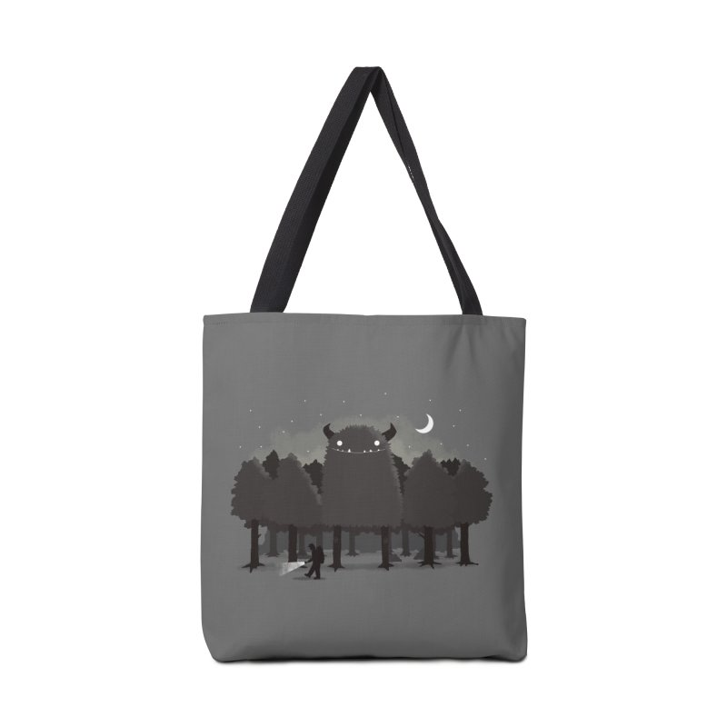 Monster Hunting Accessories Tote Bag Bag by DinoMike's Artist Shop