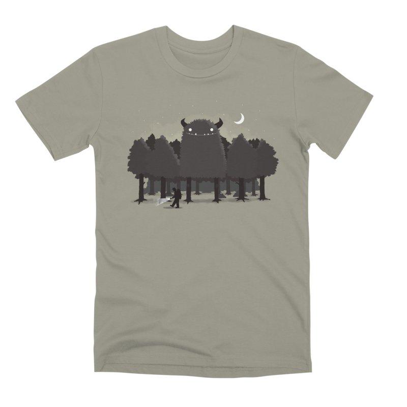 Monster Hunting Men's Premium T-Shirt by DinoMike's Artist Shop