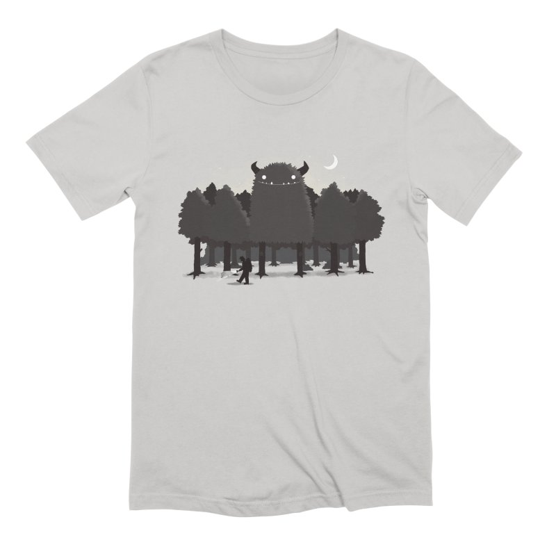 Monster Hunting Men's Extra Soft T-Shirt by DinoMike's Artist Shop
