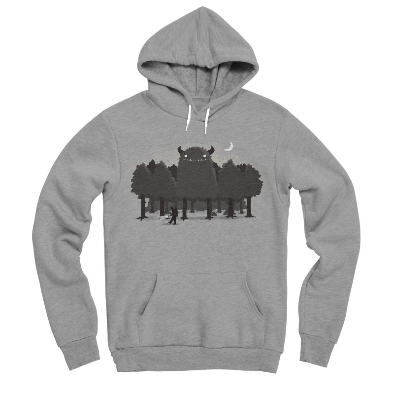 Monster Hunting Men's Pullover Hoody by DinoMike's Artist Shop