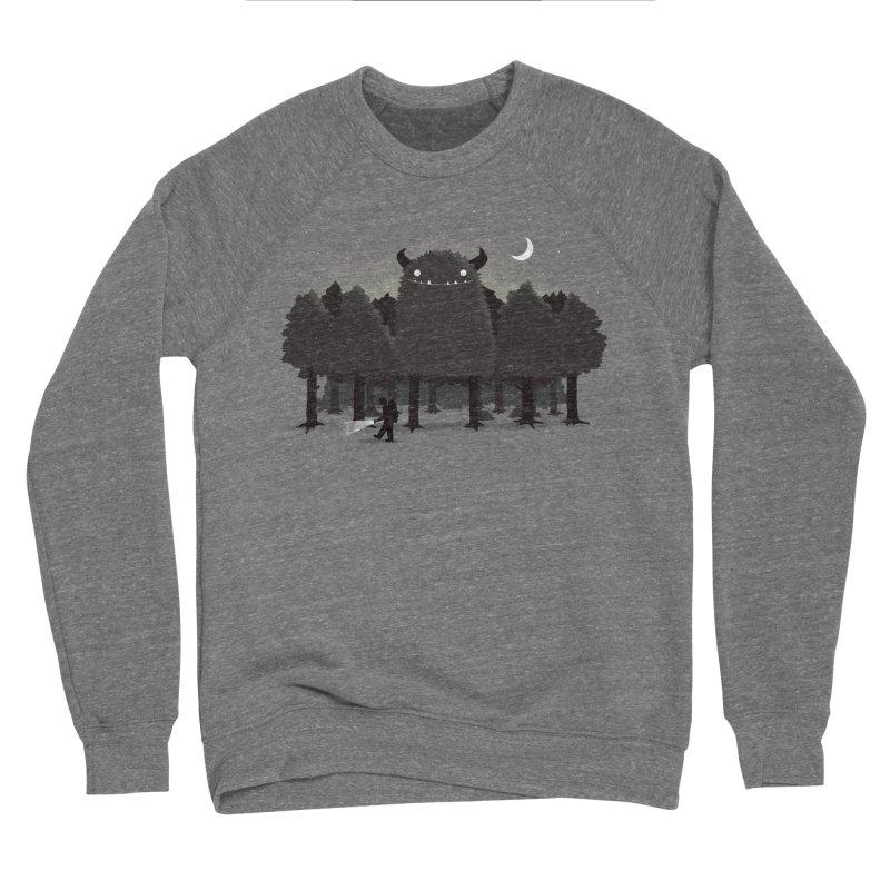 Monster Hunting Women's Sponge Fleece Sweatshirt by DinoMike's Artist Shop