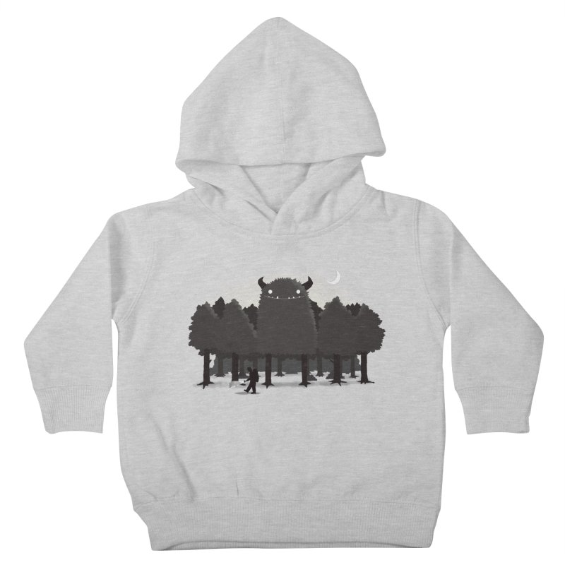 Monster Hunting Kids Toddler Pullover Hoody by DinoMike's Artist Shop