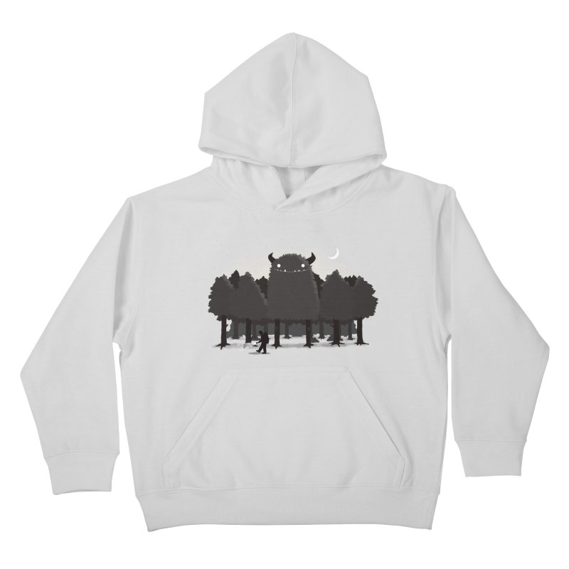 Monster Hunting Kids Pullover Hoody by DinoMike's Artist Shop