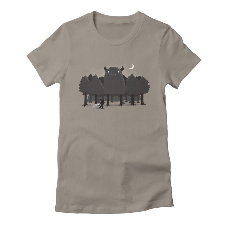Monster Hunting Women's T-Shirt by DinoMike's Artist Shop