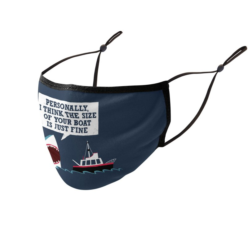 Polite Jaws Accessories Face Mask by DinoMike's Artist Shop