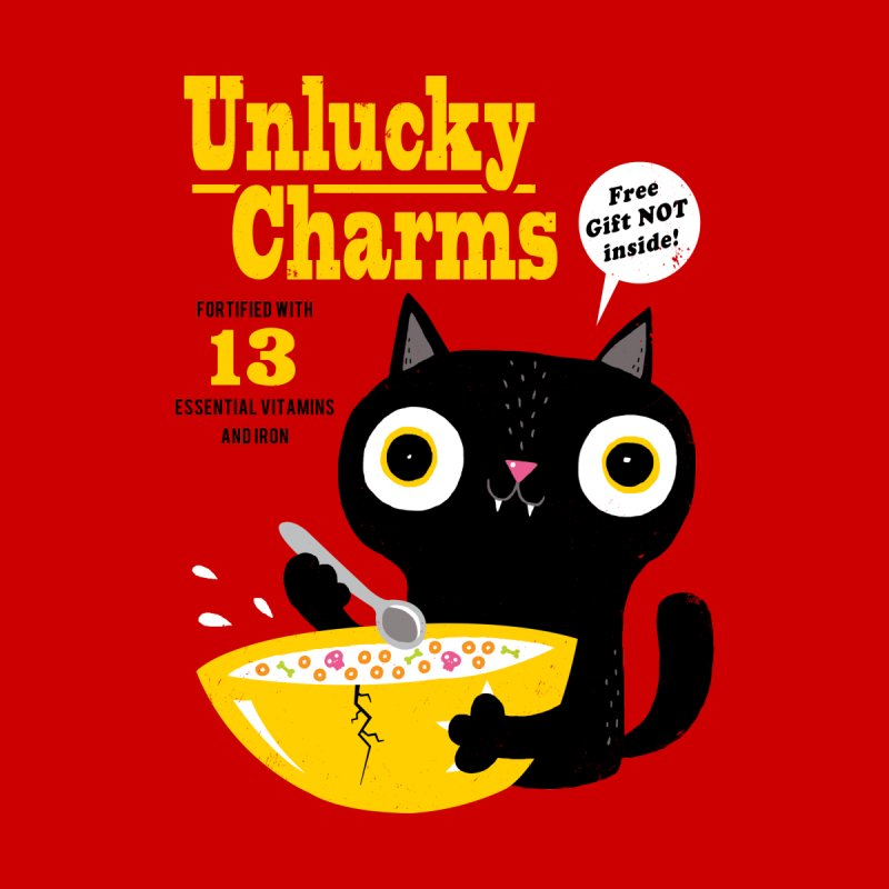 Unlucky Charms Home Fine Art Print by DinoMike's Artist Shop