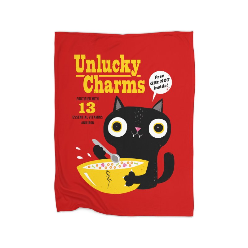 Unlucky Charms Home Blanket by DinoMike's Artist Shop