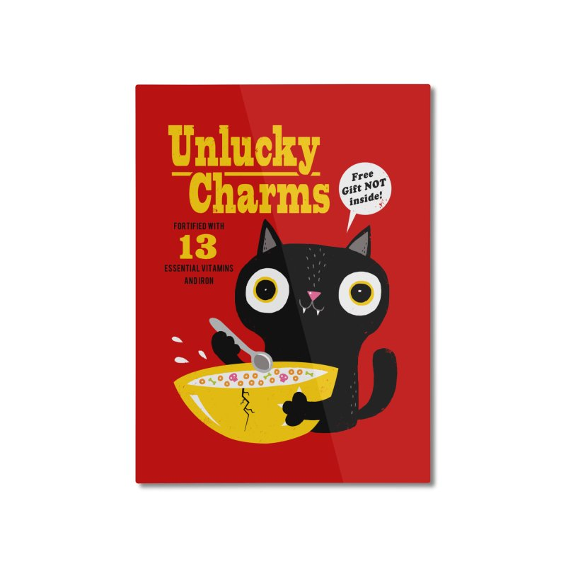 Unlucky Charms Home Mounted Aluminum Print by DinoMike's Artist Shop