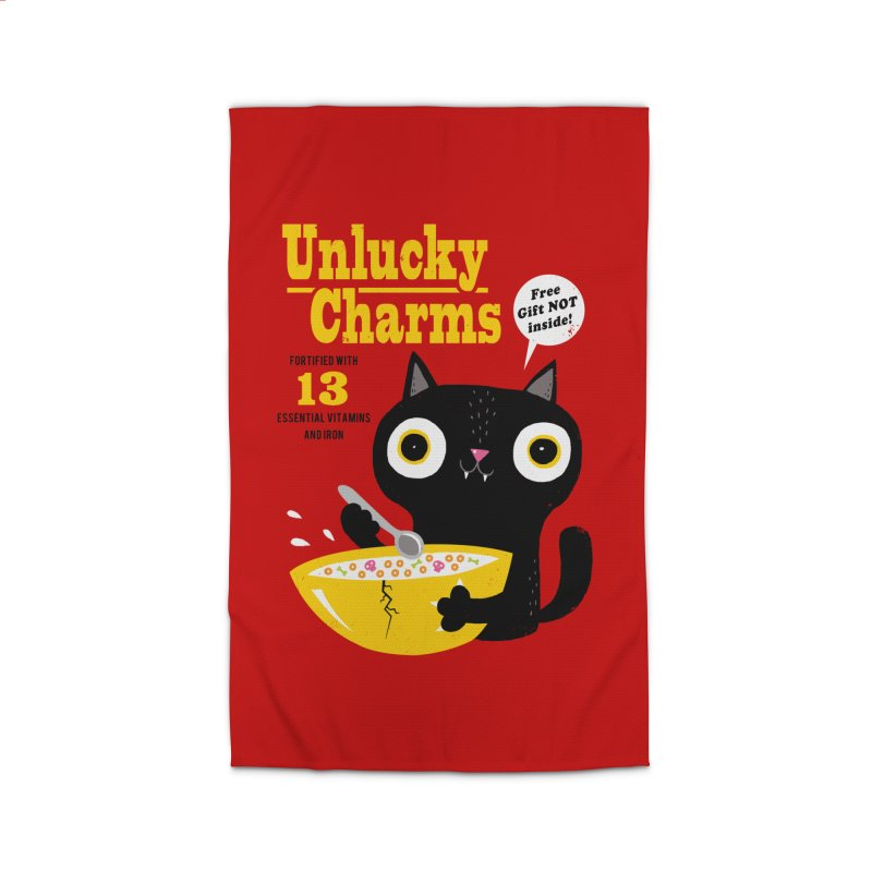 Unlucky Charms Home Rug by DinoMike's Artist Shop