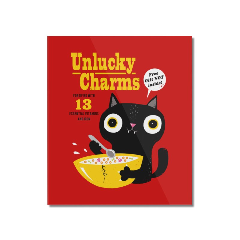 Unlucky Charms Home Mounted Acrylic Print by DinoMike's Artist Shop