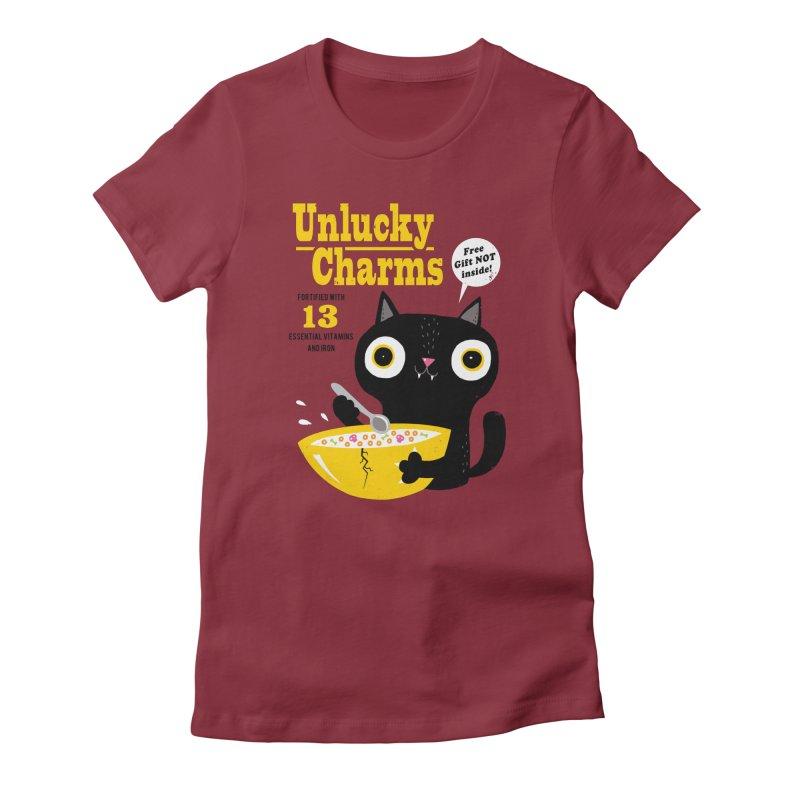 Unlucky Charms Women's T-Shirt by DinoMike's Artist Shop