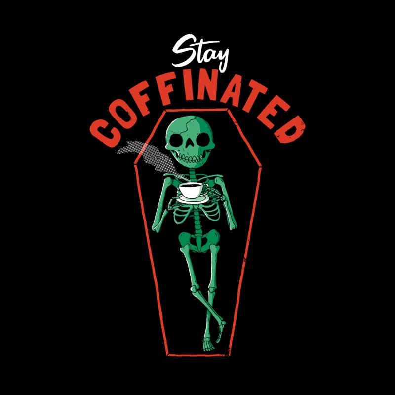 Stay Coffinated Kids T-Shirt by DinoMike's Artist Shop