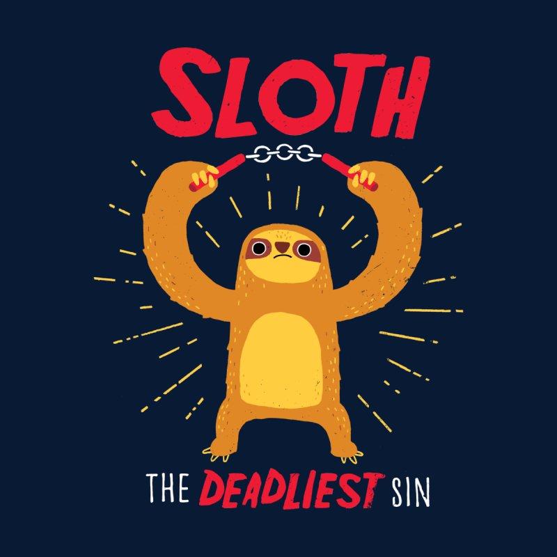 The Deadliest Sin Kids T-Shirt by DinoMike's Artist Shop