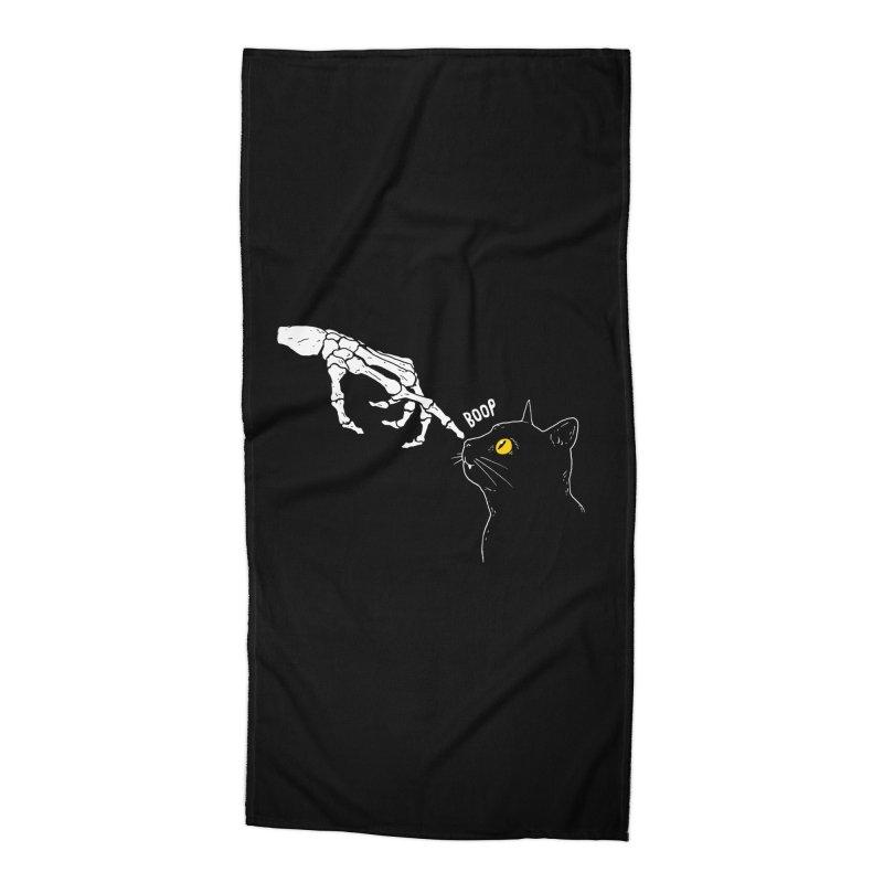 Spooky Boop Accessories Beach Towel by DinoMike's Artist Shop