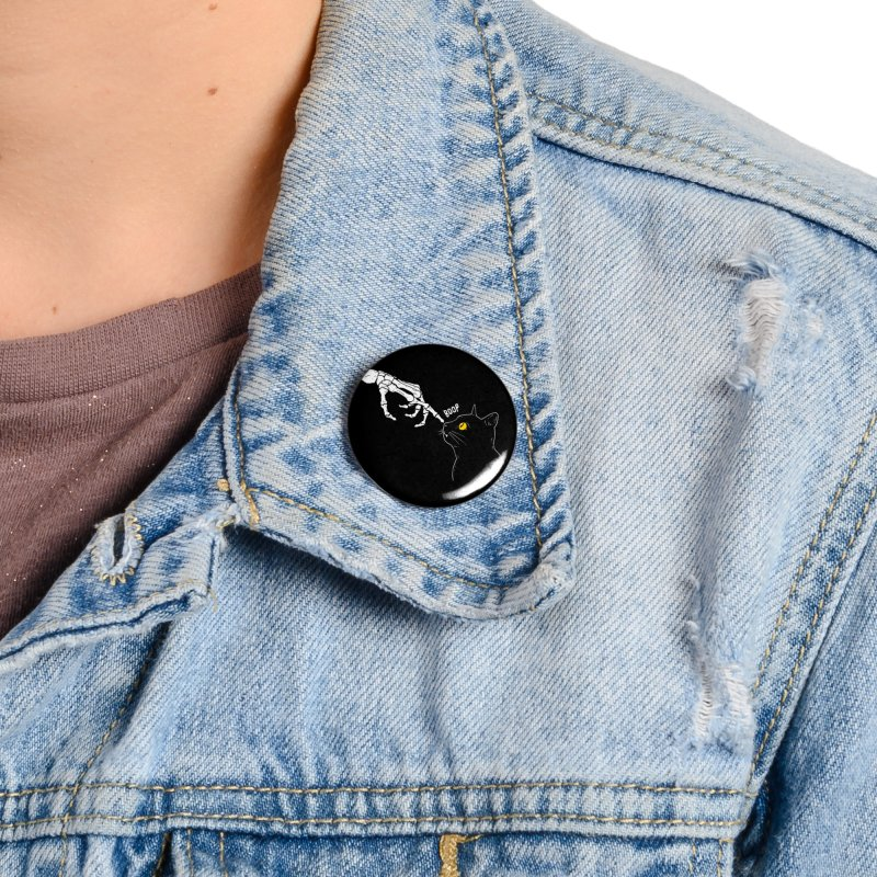 Spooky Boop Accessories Button by DinoMike's Artist Shop