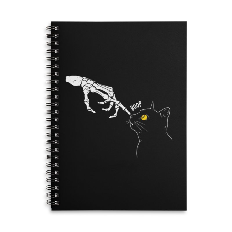 Spooky Boop Accessories Notebook by DinoMike's Artist Shop