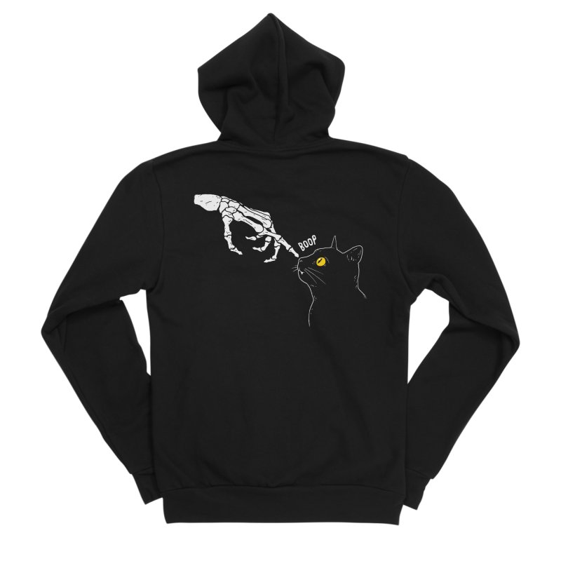 Spooky Boop Men's Zip-Up Hoody by DinoMike's Artist Shop