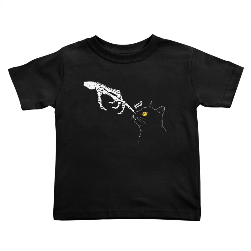 Spooky Boop Kids Toddler T-Shirt by DinoMike's Artist Shop